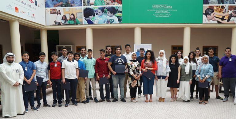 94e1db386 الكويت: بنك الكويت الوطني ينظم مع لوياك عملاً تطوعياً لمتدربي برنامج  التدريب الصيفي