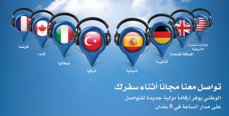 4fd756399 الكويت: بنك الكويت الوطني يوفر لعملائه أرقام هواتف مجانية أثناء سفرهم خارج  الكويت