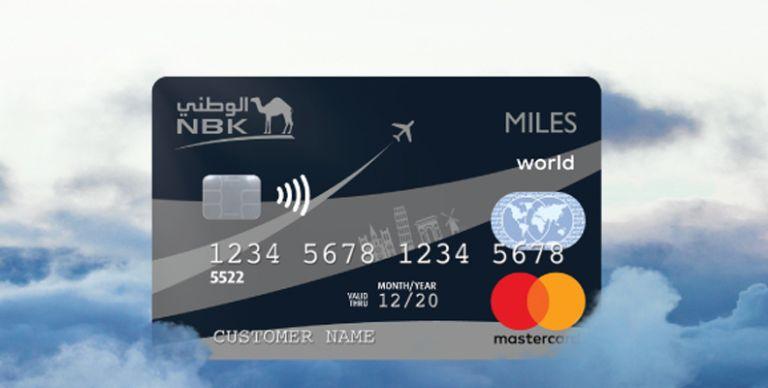 2814e7fb5 الكويت: بطاقة مايلز World Mastercard الائتمانية تمنح عملاء الوطني مكافآت  سفر استثنائية