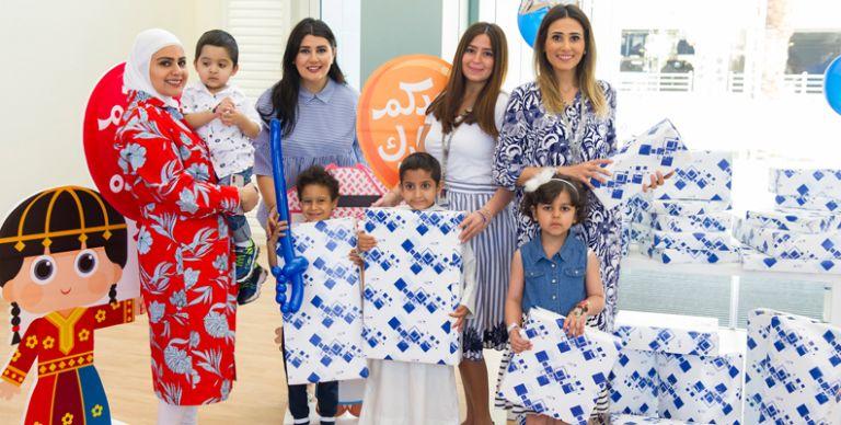 575ab8e8e905a الكويت  بنك الكويت الوطني يُشارك الأطفال فرحة العيد في مستشفاه التخصصي