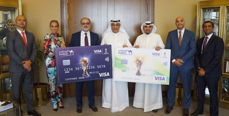 0e8fb23c1 الكويت: بنك الكويت الوطني وفيزا يعززان شراكتهما من خلال بطاقة كأس العالم  FIFA الوطني مسبقة الدفع
