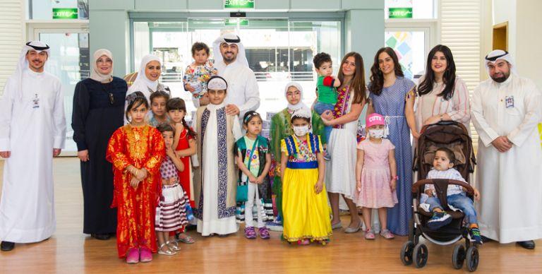 480662d5f488e الكويت  بنك الكويت الوطني يُشارك الأطفال فرحة القرقيعان في مستشفى بنك  الكويت الوطني