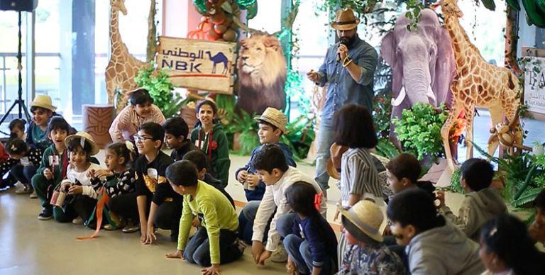 ae6f417eef0f4 الكويت  بنك الكويت الوطني ينظم مهرجان الأطفال السنوي في بيت عبدالله