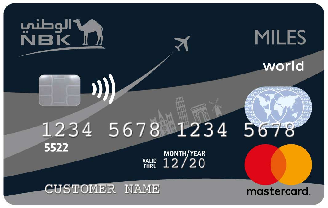 NBK Miles World Mastercard Credit Card