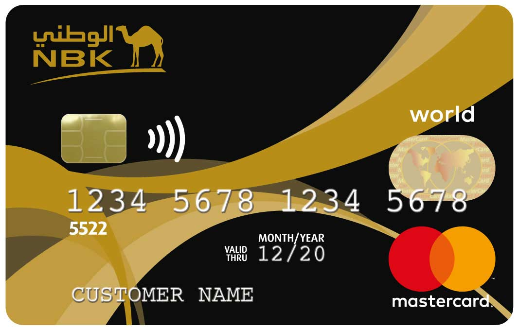 NBK World Mastercard Credit Card